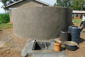 The Water Project: Kimangeti Primary School -  Access Area In Progress