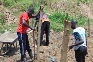 The Water Project: Sasala Community, Kasit Spring -  Fencing