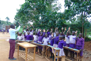 The Water Project: Magaka Primary School -  Lets See Those Palms
