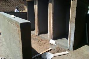 The Water Project: Friends Primary School Givogi -  Latrine Construction