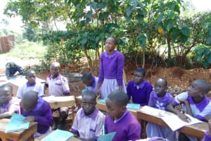 The Water Project: Magaka Primary School -  Student Answers A Question