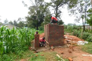 The Water Project: Kimangeti Primary School -  Latrine Construction
