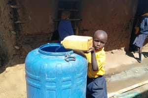 The Water Project: Friends Primary School Givogi -  Delivering More Water For Construction