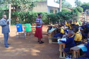 The Water Project: Friends Primary School Givogi -  Students Volunteering