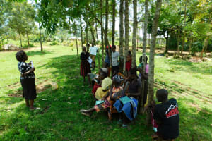 The Water Project: Ikonyero Community, Amkongo Spring -  Training