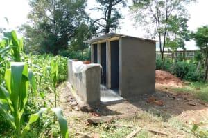 The Water Project: Kimangeti Primary School -  Latrines Underway