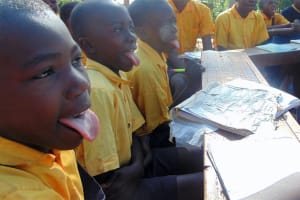 The Water Project: Friends Primary School Givogi -  Say Ah Dental Hygiene Lesson