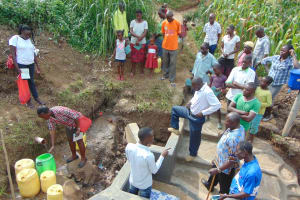 The Water Project: Shihungu Community, Shihungu Spring -  Site Management Training