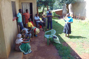 The Water Project: Lutonyi Community, Lutomia Spring -  Dental Hygiene Training