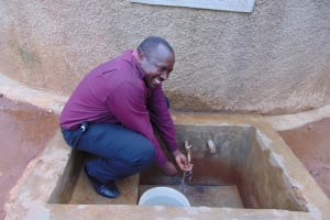 The Water Project: Precious School Kapsambo Secondary -  Mr Stanley Sandagi