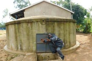 The Water Project: Emukangu Primary School, Shibuli -  Teacher Mr Eugine Imbenzi