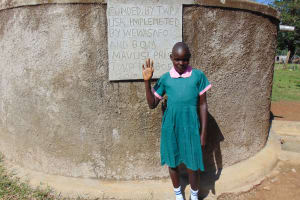The Water Project: Mavusi Primary School -  Gertrude Luvonga