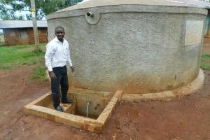 The Water Project: Imbale Primary School -  Teacher Mr Victor Livondo