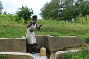 The Water Project: Shibuli Community, Khamala Spring -  Yvonne Ivayo