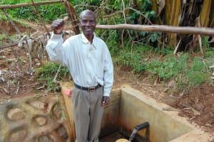The Water Project: Musiachi Community, Thomas Spring -  Juma Ambundo