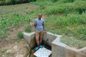 The Water Project: Emaka Community, Ateka Spring -  Mathew Oketch