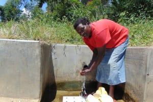 The Water Project: Shirugu Community, Shapaya Mavonga Spring -  Violet Isaac