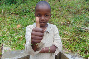 The Water Project: Ematetie Community, Chibusia Spring -  Goddard Juma