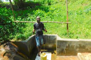 The Water Project: Koloch Community, Solomon Pendi Spring -  Tom Musa