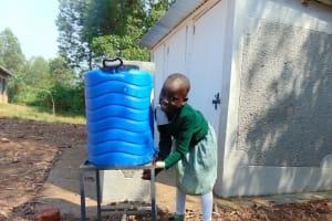 The Water Project: Lwanga Itulubini Primary School -  Handwashing