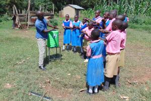 The Water Project: Kimangeti Primary School -  Handwashing Demonstration