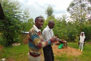The Water Project: Sasala Community, Kasit Spring -  Handwashing Demonstration
