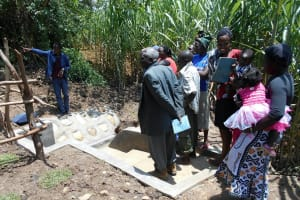 The Water Project: Buyangu Community, Osundwa Spring -  Training At The Spring