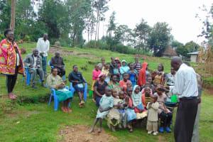 The Water Project: Sasala Community, Kasit Spring -  Handwashing Practice