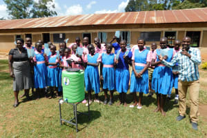 The Water Project: Kimangeti Primary School -  Training Complete
