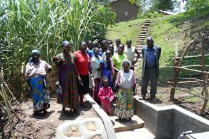 The Water Project: Buyangu Community, Osundwa Spring -  Happy Group