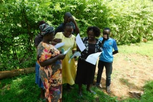 The Water Project: Ikonyero Community, Amkongo Spring -  Group Work