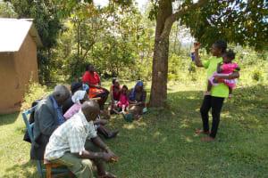 The Water Project: Buyangu Community, Osundwa Spring -  Trainer Christine Masinde In Action