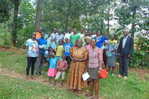 The Water Project: Shihungu Community, Shihungu Spring -  Training Complete