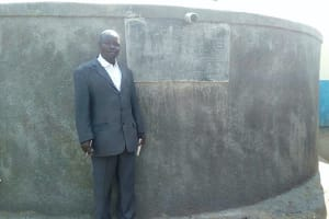 The Water Project: Friends Primary School Givogi -  Mr Clement Masika Faculty Liason For The Student Health Club
