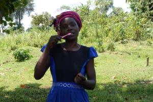 The Water Project: Buyangu Community, Osundwa Spring -  Dental Demonstration