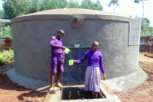 The Water Project: Magaka Primary School -  Cheers To Clean Water