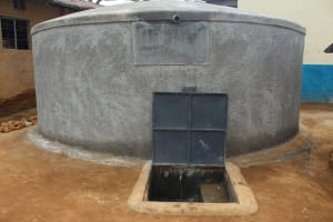 The Water Project: Friends Primary School Givogi -  Finished Rain Tank