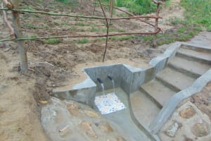 The Water Project: Sasala Community, Kasit Spring -  Completed Kasit Spring