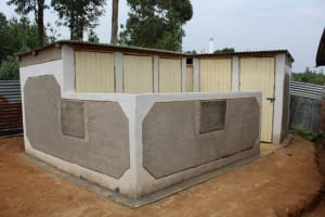 The Water Project: Friends Primary School Givogi -  Finished Latrines