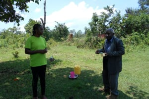 The Water Project: Buyangu Community, Osundwa Spring -  Dental Hygiene Volunteer
