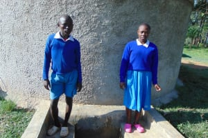 The Water Project: Sabane Primary School -  Sandra Ludenyi Right