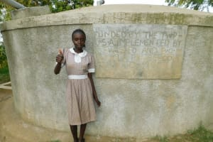 The Water Project: Lusiola Primary School -  Tracey Ayuma