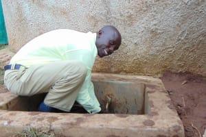 The Water Project: Gemeni Salvation Primary School -  Teacher Mr Jack Wegulo