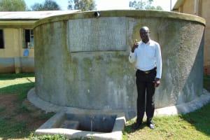 The Water Project: St. John Cheptech Secondary School -  Teacher Mr Alexander Idache