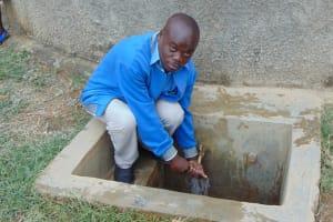 The Water Project: Naliava Primary School -  Teacher Mr Kennedy Masinya