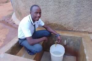 The Water Project: Precious School Kapsambo Secondary -  Douglas Mageri