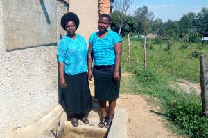 The Water Project: St. Joseph Eshirumba Primary School -  Deputy Head Teacher Mulima With Betty
