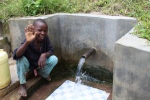 The Water Project: Ewamakhumbi Community, Yanga Spring -  Robinson Yanga