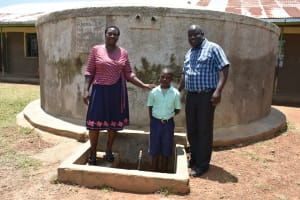 The Water Project: Mukunyuku RC Primary School -  Emmah Wekesa John Bosco Obonyo And Kennedy Wesonga