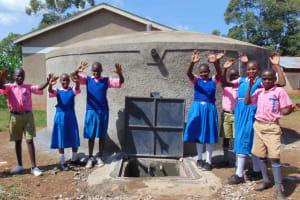 The Water Project: Kimangeti Primary School -  Celebrating The Rain Tank